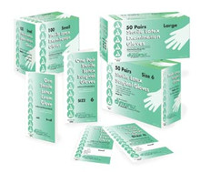 DYNAREX LATEX SURGICAL GLOVES 2490