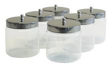 Graham Field Grafco Unlabeled Glass Dressing Jars # 3461 - Careforde Healthcare Supply