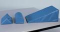 "Hausmann Anti-Slip Positioning Bolsters # 42 - Half-Round Positioning Bolster, 17""L x 8""W x 7""H, Each"