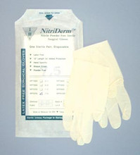 INNOVATIVE NITRIDERM STERILE POWDER-FREE SURGICAL GLOVES 135750