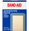 "J&J Band-Aid Adhesive Pads # 004768 - Adhesive Pad, 2 7/8"" x 4"", 10/bx, 24 bx/cs"