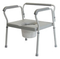 Lumex Bariatric Imperial Collection Three-In-One Steel Commode # 7446A-2 - Careforde Healthcare Supply