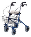 LUMEX DELUXE FOUR WHEELED ROLLATOR # RJ4200A