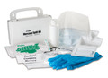 SAFETEC EZ CLEANS MERCURY SPILL KIT # 19105