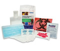 SAFETEC NATIONAL STANDARD BODY FLUID CLEAN-UP KIT # 25000