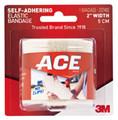 "3M ACE BRAND ATHLETIC BANDAGES # 207460 - 2"" Athletic Bandage, Self-Adhesive, 72/cs"