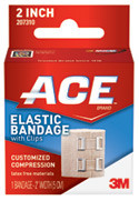 3M ACE BRAND ELASTIC BANDAGES # 207604