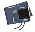 Adc Adcuff And Bladders, 2-Tube # 845-12Xn-2 - Adcuff & Bladder, 2-Tube, Navy,