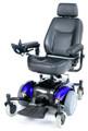 Intrepid Mid-Wheel Power Wheelchair # intrepid 22-blue