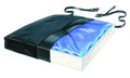 "Skil-Care Gel-Foam X Cushion, w/Coccyx Cutout, 16"" # 751034 - 16""x16""x2.5"", each"