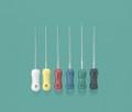 Miltex Instrument Company Plastic-Handle Flex-R Files # 14008 - flex-r-files, 21mm, 35, green, 6/pkg