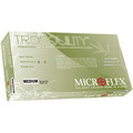 Microflex Medical Tranquility PF White Nitrile Gloves # TQ-601-L - Careforde Dental Supply