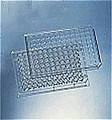 BD FALCON ASSAY PLATES # 351172 - Clear 96-well Microtest, Plate. Non-treated polystyrene, flat bottom, with a low-evaporation lid. (50/ca)