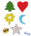 Skil-Care Gel Shapes (Tree, Star, Flower, Heart and Moon) # 914519
