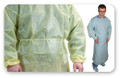 LDI Blue Polyethylene Isolation Gown