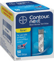 BAYER CONTOUR NEXT EZ BLOOD GLUCOSE MONITORING SYSTEM # 7309M