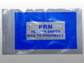 "ELKAY NARCOTICS BAGS # F20305STPRN - PRN Bag, Blue, Seal Top Reclosable, 3"" x 5"", 1000/cs - Careforde Healthcare Supply"