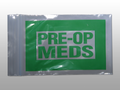"ELKAY NARCOTICS BAGS # F20406PM - Pre-Op Meds Bag, Green, Seal Top Reclosable, 4"" x 6"", 1000/cs - Careforde Healthcare Supply"