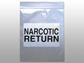 "ELKAY NARCOTICS BAGS # F206508NAR - Narcotic Return Bag, Seal Top Reclosable, 6½"" x 8"", 1000/cs - Careforde Healthcare Supply"