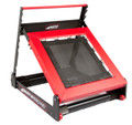 Shuttle Systems Rebound Device # 6100 - Rebound Device with 9 Angles of Adjustability, Trampoline Mat, Non-Skid Base, Roller Wheels, Rugged Base, Stability Handle & High Quality Springs, Each