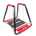 """Shuttle Systems Balance Training Device # 8011 - Balance Steps Rail Grips, Elastic Dampeners, Balance Platform Supports up to 500 lbs, Balance Step with Removable Non-Skid Surface & 50"""" x 42"""" Rugged Frame, Each"""