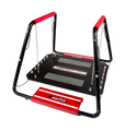 """Shuttle Systems Balance Training Device # 8020 - Balance Training Device, Sport Package with Adjustable Suspension Chains, Adjustable Arrestors, Safety Bar Grips, Balance Steps Rail Grips & 50"""" x 58"""" Rugged Frame, Each"""