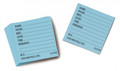 Graham-Field # 3129 Bl - Medicine Cards Blue 500/Bx Grafco, 500Ea/Bx