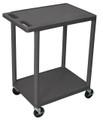 Medline 2-Shelf Tub Carts # EVSHE32BLK