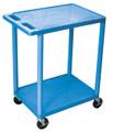 Medline 2-Shelf Tub Carts # EVSHE32BLU