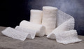 Medline Caring Non-Sterile Cotton Gauze Bandage Rolls # PRM25855