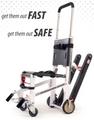 Ferno EZ-Glide Evacuation Stair Chair # 59-E