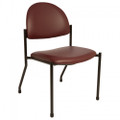 Brewer Side Chairs # 1250-31 - Side Chair, No Arms, Deep Sapphire