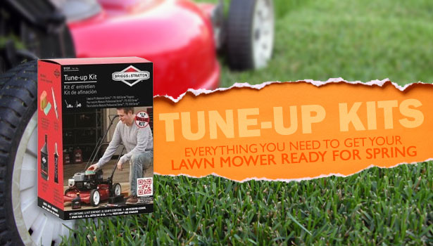 Lawn mower tune-up kits
