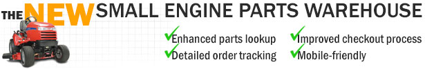 Lawn mowers, trimmers and parts at Small Engine Parts Warehouse