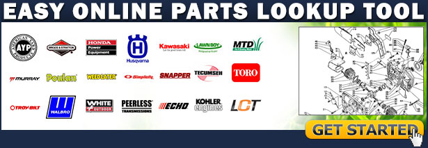 Look up your small engine parts quickly and easily without our parts diagrams
