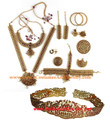 Bharatanatyam jewelry set