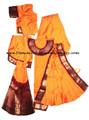 Bharatanatyam costume for dance