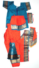 Kuchipudi dance dress