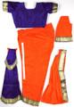 Bharata natyam dress