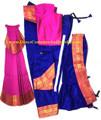 Bharatanatyam dance cstume