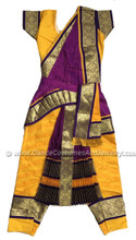 Kuchipudi dance costume - Front