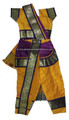Kuchipudi dance costume - Back