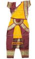 Bharatanatyam dress