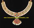 Necklace Imitation temple jewelry choker GRN75