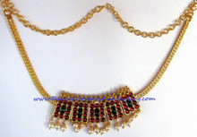 poothaali choker jewelry necklace
