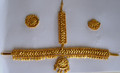 Golden headset for Mohiniyattam