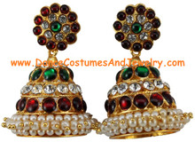 Bharatanatyam jewelry - An Indian temple jewellery ornament for dance