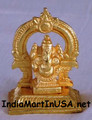 Golden Idol of Ganesha 02IN