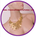 Belly dance jewelry necklace M0051