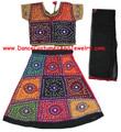 Cotton Lehenga / Chaniya Choli for Bollywood dance BkGr